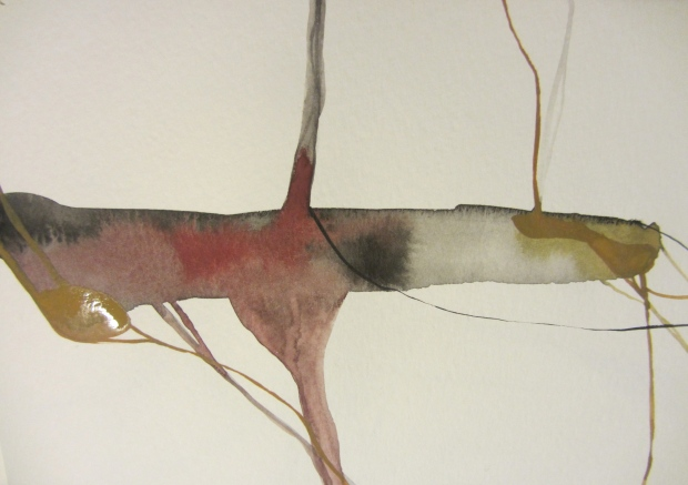 sketchbook (buenos aires) - venas, watercolours in a moleskine, laura barbuto, 2012.
