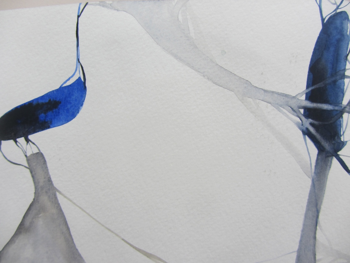 sketchbook (buenos aires), watercolours, laura barbuto, 2012.