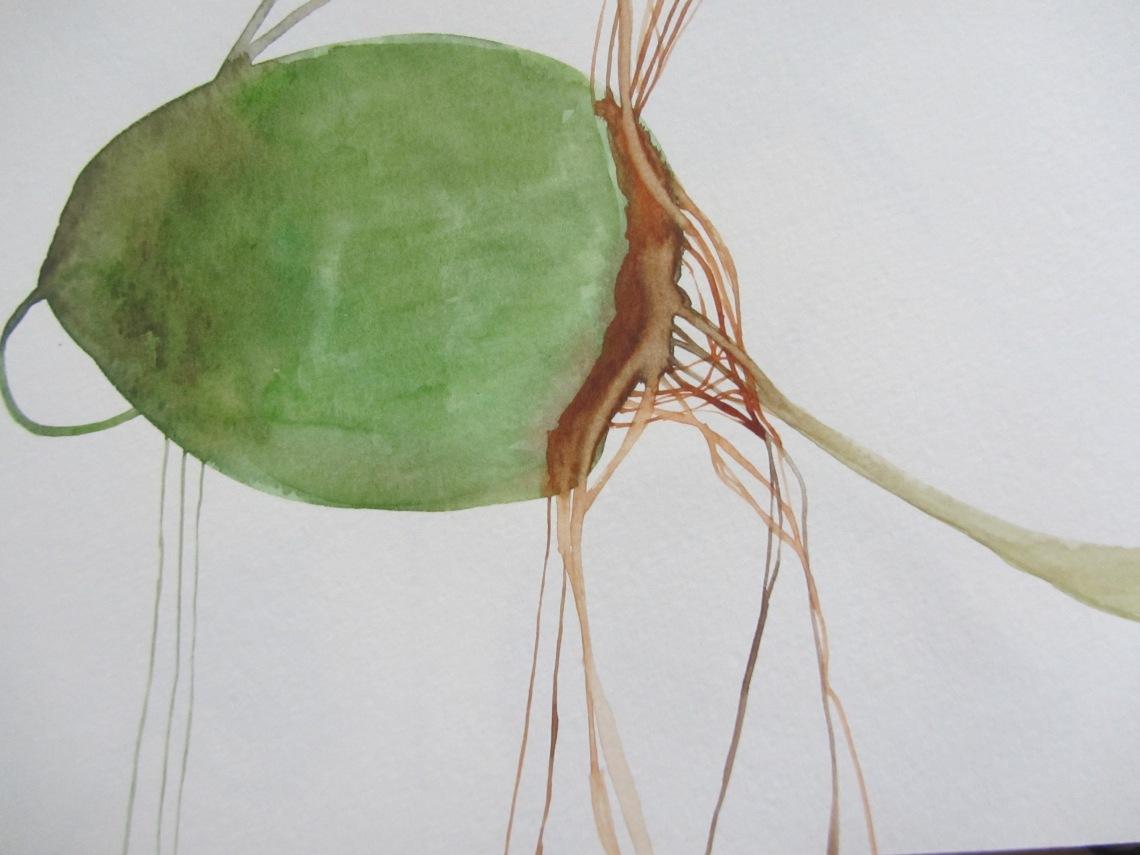 sketchbook (buenos aires) , watercolours, laura barbuto, 2012