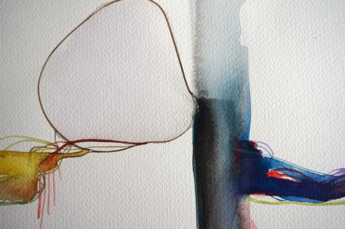 Wired 2, detail, Laura Barbuto, 2014.