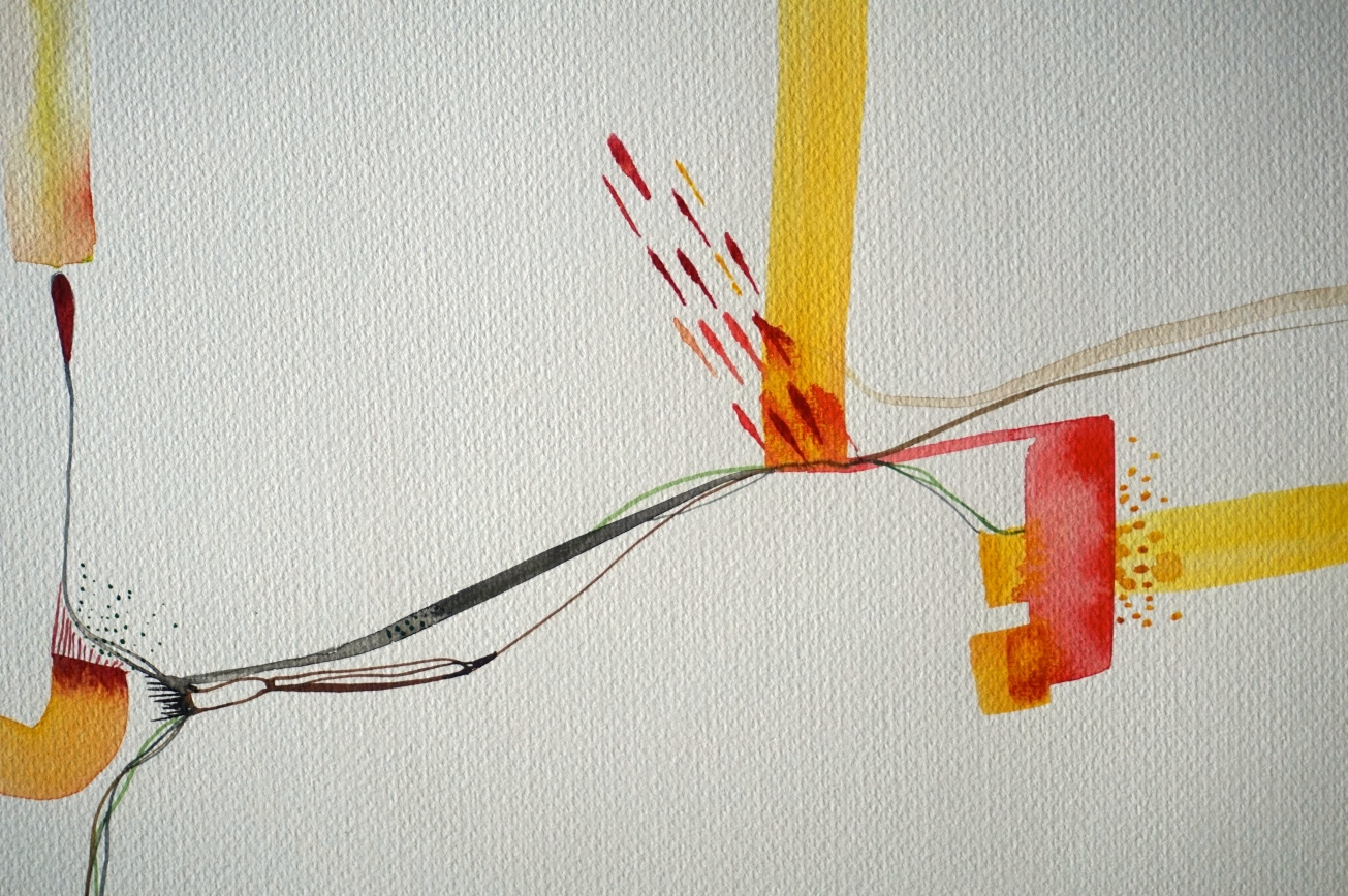 Wired 6, detail, Laura Barbuto, 2014.