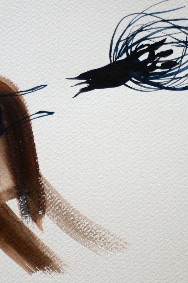 Nasty Little Creatures 4, detail, Laura Barbuto, 2014.
