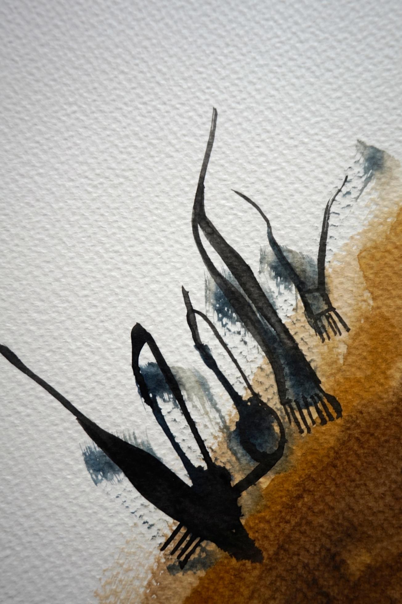 Nasty Little Creatures 5, detail, Laura Barbuto, 2014.