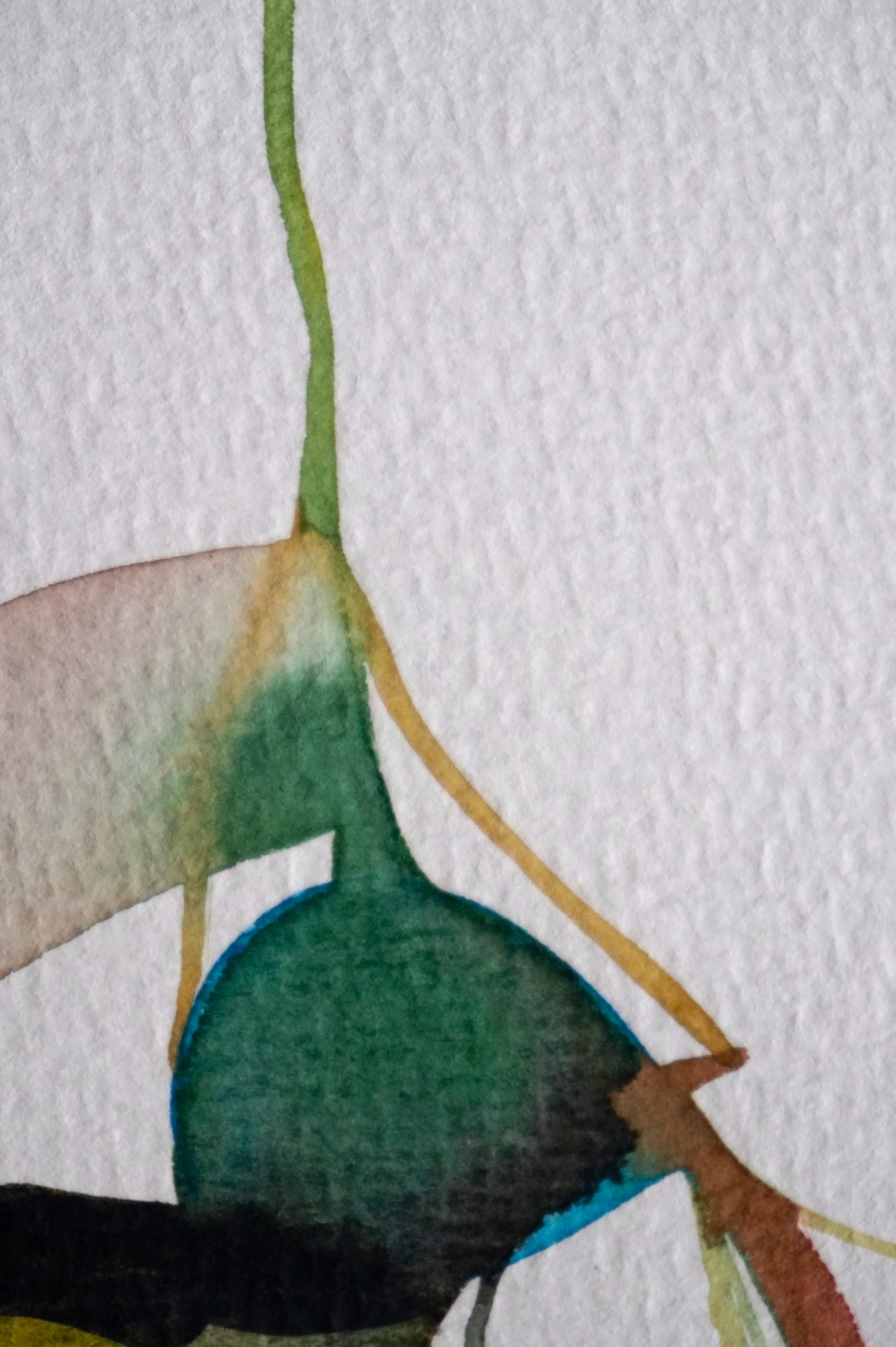 Verde 3, detail, Laura Barbuto, 2013.