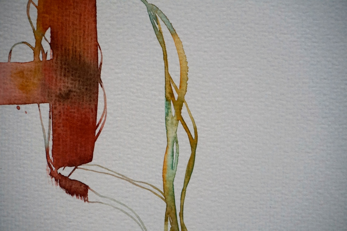 Verde 4 (yendo), detail, Laura Barbuto, 2013.